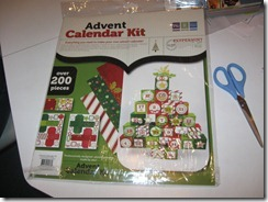 We R Memory Keepers Advent Calendar Kit - Front