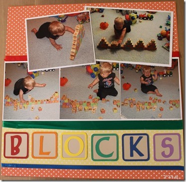 Knocking over blocks